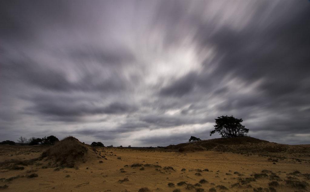 Stormwolken Kootwijkerzand